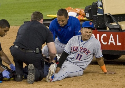 Dirty Play by Dodgers Player Chase Utley Sends Mets Player Ruben Tejada Out of Game with Broken Leg!
